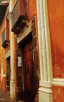 Antigua Orange Tilt by Alisa Seneor