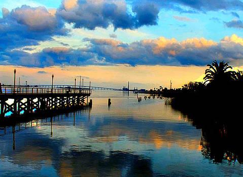 Antioch Pier Sunset by Kathleen Storey