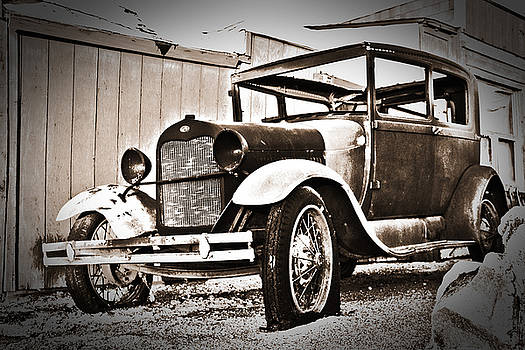 Antiquated Auto by Mike Hill