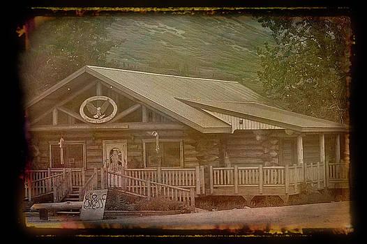 Aimee L Maher ALM GALLERY - Antique Amber Summit Lake Lodge Alaska 2