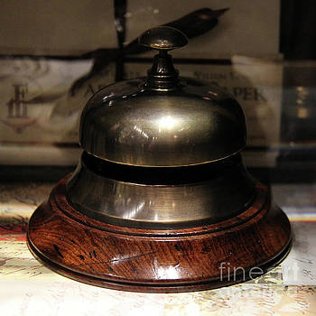 Antique Bell by Kasia Bitner