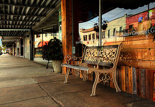 Antique Bench by Ester Rogers