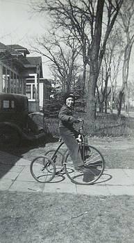 Antique Big Wheel by Krista Barth