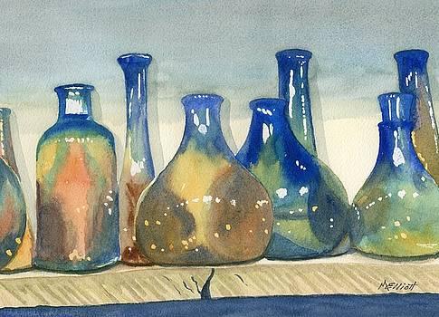 Antique Bottles by Marsha Elliott