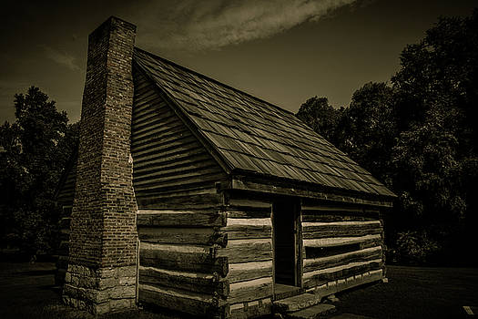 Antique Cabin - The Hermitage by James L Bartlett