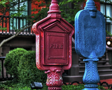 Antique Call Boxes by Richard Hinds