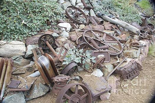 Antique car parts by Anthony Jones