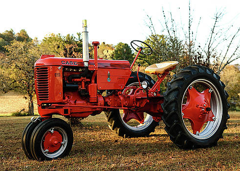 Antique Case Tractor by Seth Solesbee