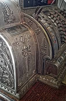 Antique Cash Register by Dori Basilius