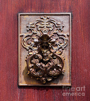 Antique Charleston Door Knocker by Dale Powell