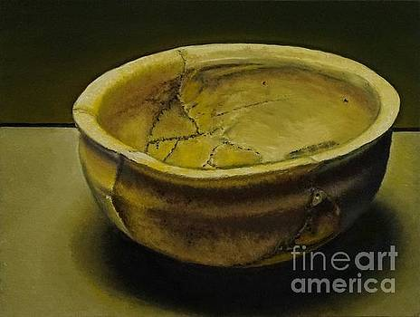 Antique Clay Pot by Mitzisan Art LLC