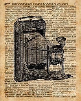 Antique Conley Camera,Vintage Encyclopedia Book Page by Anna W