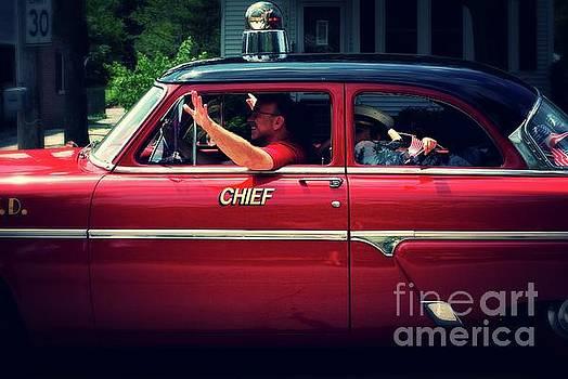 Frank J Casella - Antique Fire Chief Car