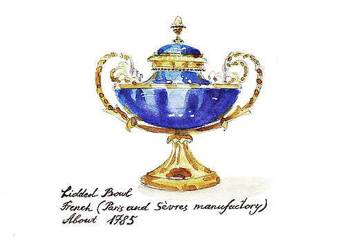 Antique French Bowl by Masha Batkova