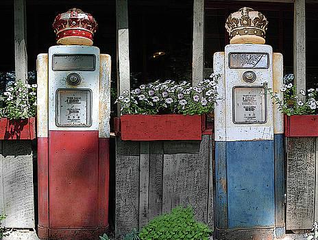 Jost Houk - Antique Gas Pumps