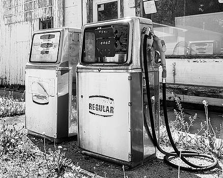 Antique Gas Pumps by Mark Dahmke