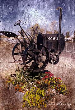 Antique Mailbox by Gina Cordova