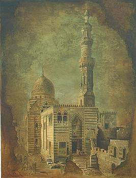 Antique Minar by Jaffo Jaffer