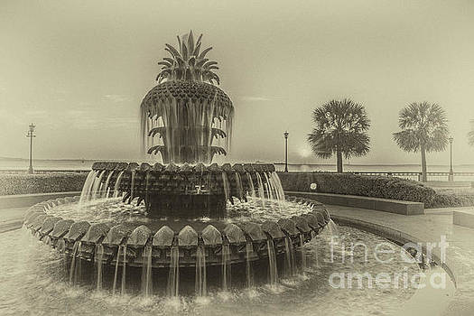 Dale Powell - Antique Pineapple Fountain