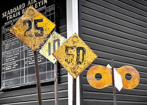 Rebecca Brittain - Antique Railroad Signs