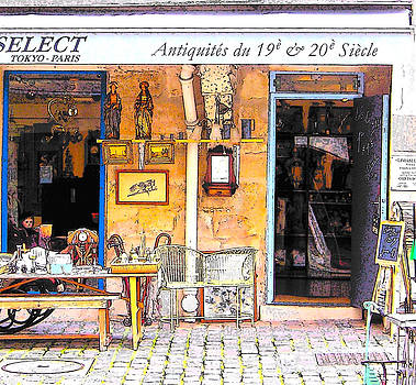 Jan Matson - Antique shop in Paris