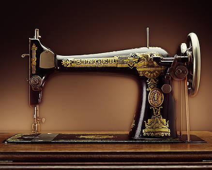 Kelley King - Antique Singer Sewing Machine