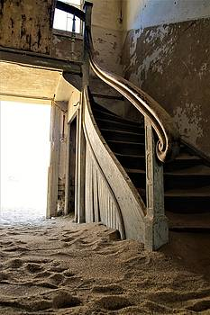 Antique Staircase by Andrew Morgan