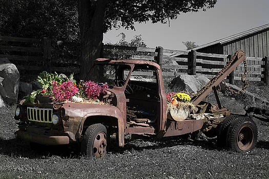 Antique Tow Truck by Kirkodd Photography Of New England