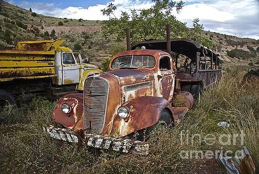 Antique Truckhauler by Anthony Jones