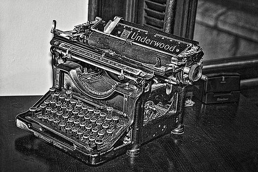 Antique Underwood by Laura Greene