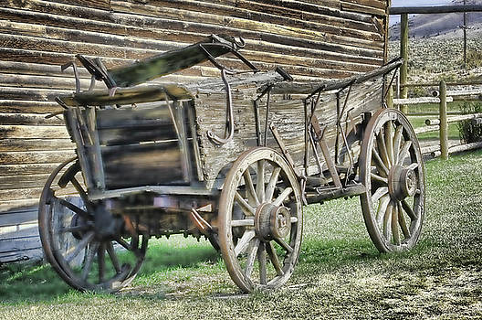 Antique Wagon by Keith Lovejoy