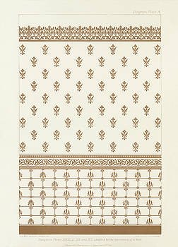 Antique wall decoration pattern by Audsley