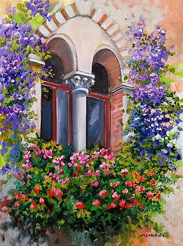 Antique window - Italy by Gioia Mannucci