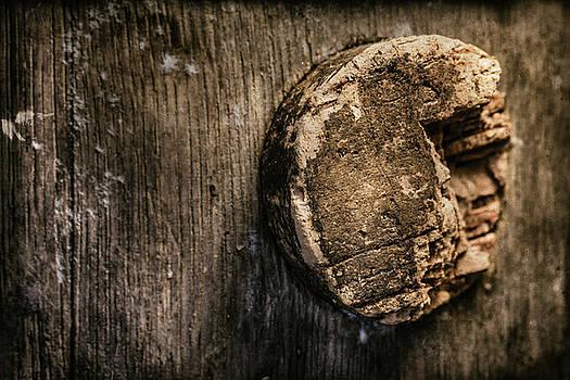 Tom Mc Nemar - Antique Wine Barrel Cork