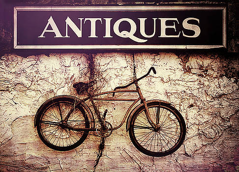 Antiques Old Bike by Bob Orsillo