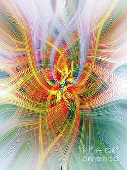Antirrinhum Twirl by Elaine Teague