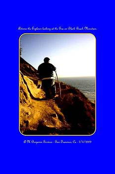 Antonio the Explorer looking at the sea  by Anthony Benjamin