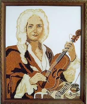 Antonio Vivaldi by Kovats Daniela