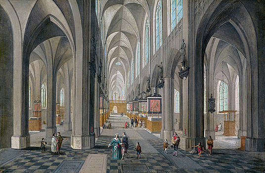 Peeter Neeffs the Elder - Antwerp Cathedral