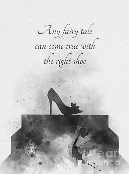 Any fairy tale can come true Black and White by My Inspiration
