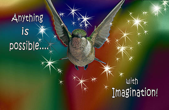 Cathy  Beharriell - Anything is Possible with Imagination  rainbow