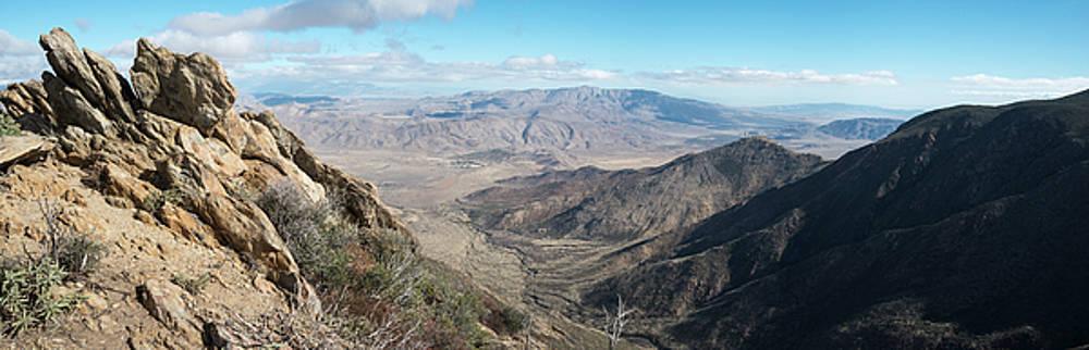 Anza Borrego Desert Panorama by William Dunigan