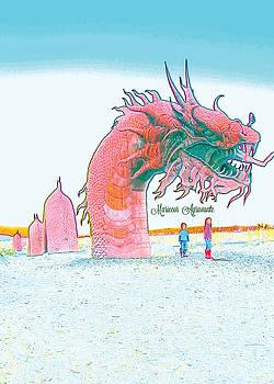 Anza - Borrego Desert Sea Dragon by Mariecor Agravante