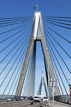 Ramunas Bruzas - Anzac Bridge Traffic