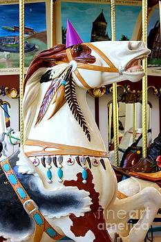 Apache Carousel Horse by The Art of Alice Terrill