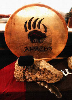 Apache Drum by Ayasha Loya