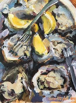 Apalachicola Oysters by Susan E Jones