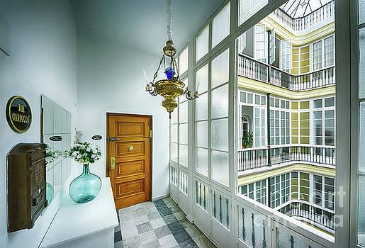 Apartment In The Heart Of Cadiz 17th Century Cadiz by Pablo Avanzini