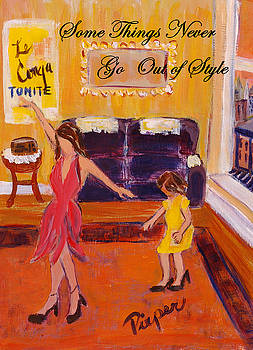 Apartment of French Dancer by Betty Pieper