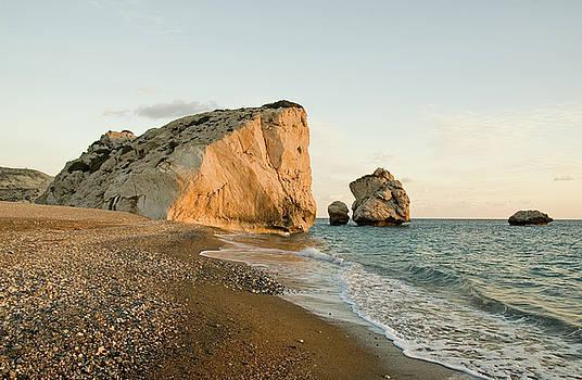 Aphrodite's Rock Sunset by Jeremy Voisey